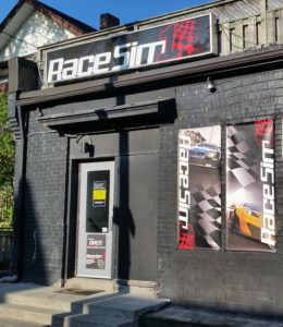 RaceSim1 Sim Racing Arcade Centre - Store Front Entrance