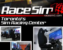 RaceSim1 Flyer