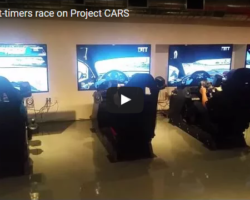 VIDEO – Earlier Tonight at RaceSim1…