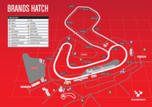 RaceSim1 Brands Hatch Circuit Map