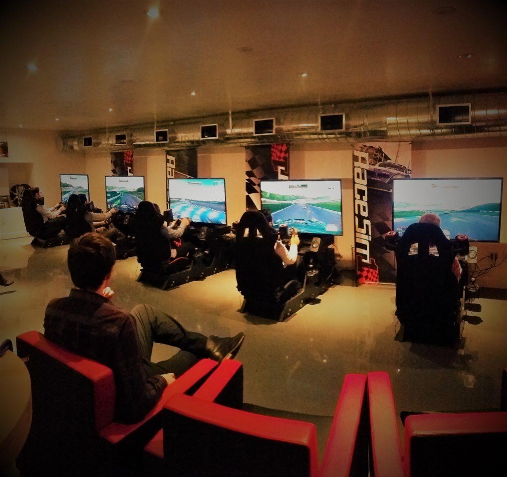 RaceSim1 - Sim Racing Arcade Toronto - Canadian Tire Group