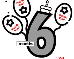 6 Months Already!