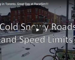 Snow? Nope! Speed Limits? Nope!