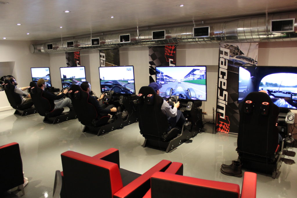 RaceSim1 Sim Racing Centre Arcade - Sat February 25, 2017