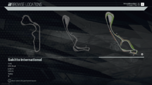 Sakito International Track Diagram Project CARS