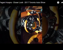Pagani Huayra – Closer Look – 2017 Toronto Auto Show