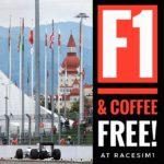 RaceSim1 Sim Racing Centre Arcade - Russia Sochi F1 GP Screening