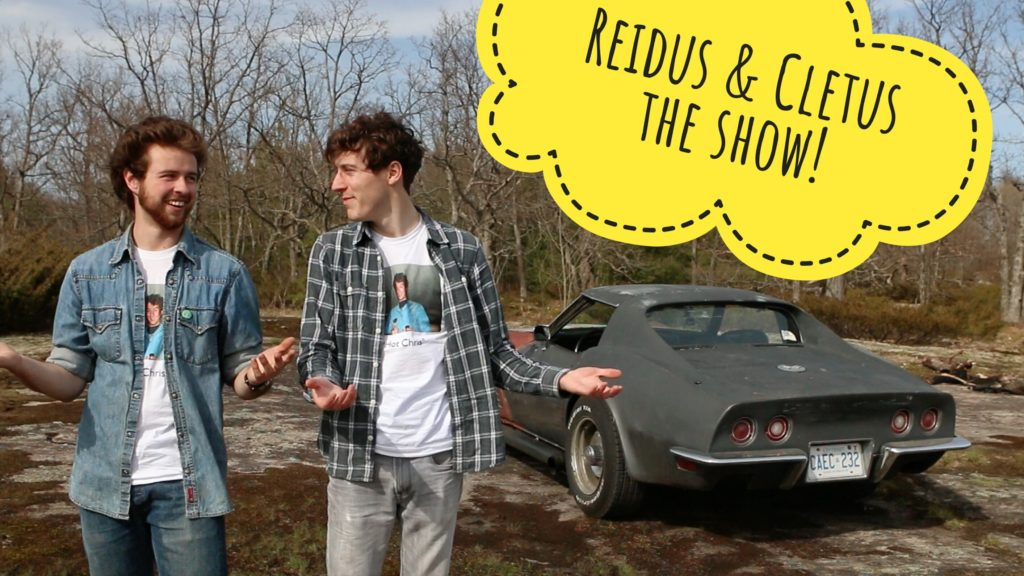 Reidus and Cletus the Show - Screening of Episode 4 at RaceSim1