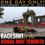 RaceSim1 Sim Racing Arcade - Honda Indy Toronto - Free Sim Racing Event