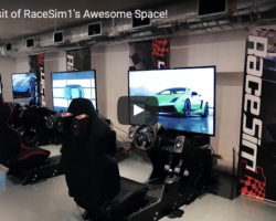 Virtual Visit of RaceSim1's Awesome Space!