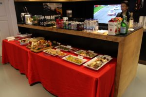 Catering, Drinks, Beer, Wine at RaceSim1