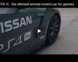 A Real Remote Controlled Nissan GT-R!