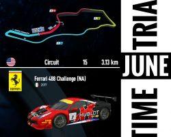 June Time Trial at RaceSim1