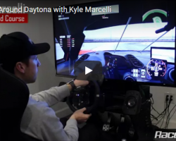 Hot Lap Around Daytona with Kyle Marcelli
