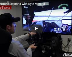 Hot Lap Around Daytona with Kyle Marcelli