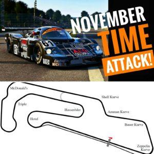 RaceSim1 Sim Racing Arcade Toronto - November Time Trial