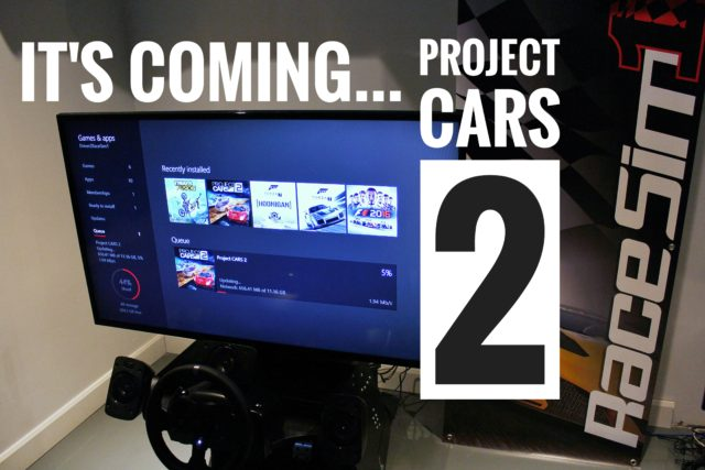 RaceSim1 - Sim Racing Arcade Toronto - Project CARS 2 Pre-Downloading