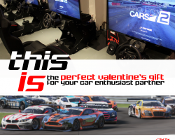Bring your Valentine to RaceSim1