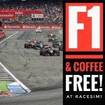 RaceSim1 Sim Racing Centre Arcade - Hockenheimring German F1 GP Screening