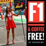 RaceSim1 Sim Racing Centre Arcade - Hungarian F1 GP Screening