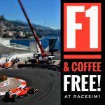 RaceSim1 Sim Racing Centre Arcade - Monte Carlo Monaco F1 GP Screening
