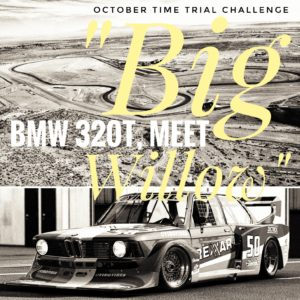 RaceSim1 Time Trial October 2017 1978 BMW 320T at Willow Springs
