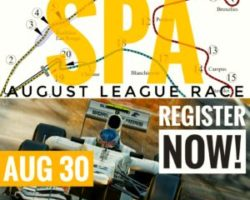 Results are In for the August League Race